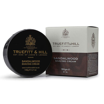 Truefitt & Hill SANDALWOOD系列剃须膏