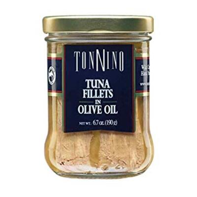 Tonnino Fillets in Olive Oil金枪鱼罐头