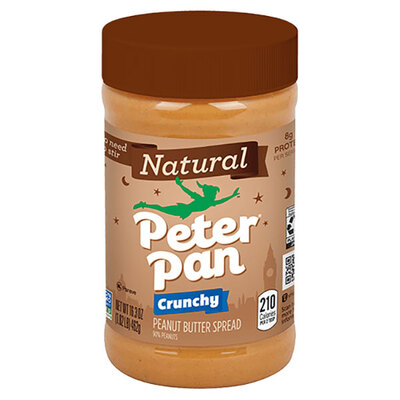 Peter Pan NATURAL CRUNCHY PEANUT BUTTER天然香脆花生酱