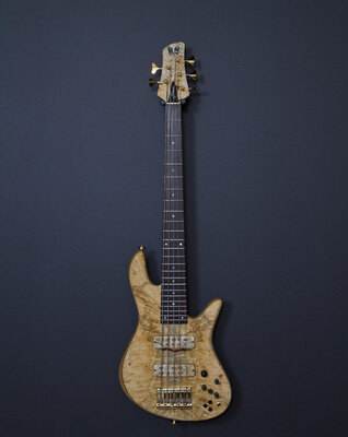 Fodera 通颈式电贝斯贝司Emperor Elite Bass Guitar