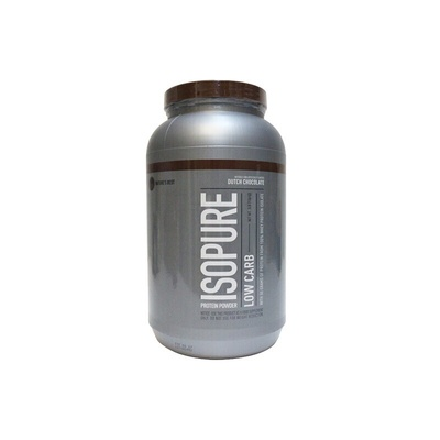 Isopure Low carb巧克力味分离乳清蛋白粉3磅