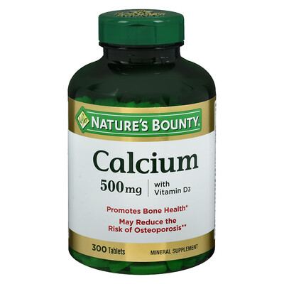 Nature's Bounty Calcium Plus Vitamin D3 500mg