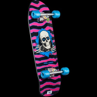 Powell-Peralta滑板Ripper Pink Complete Skateboard Assembly