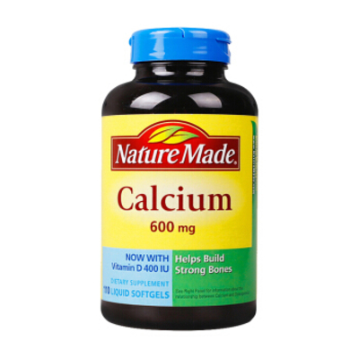 Nature Made Calcium 600 mg with Vitamin D Liquid SoftGel