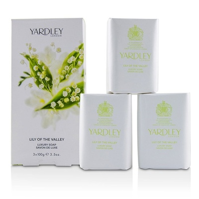 Yardley London Lily of the Valley Luxury Soaps香皂