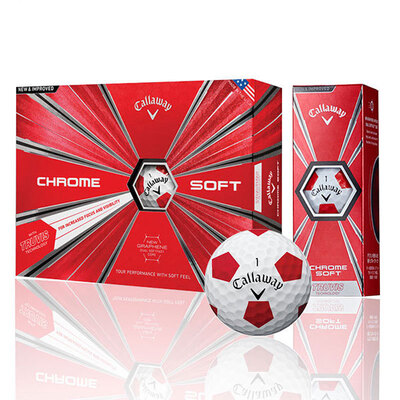 Callaway/卡拉威高尔夫球 Chrome Soft 18 多层球
