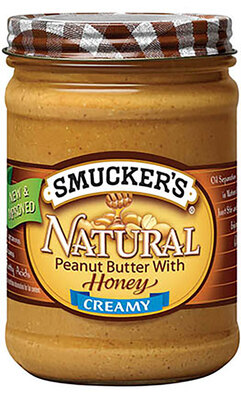 Smucker's NATURAL PEANUT BUTTER WITH HONEY天然蜂蜜花生酱