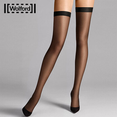 Wolford individual10D大腿袜