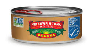 Genova Yellowfin Tuna in Olive Oil罐头