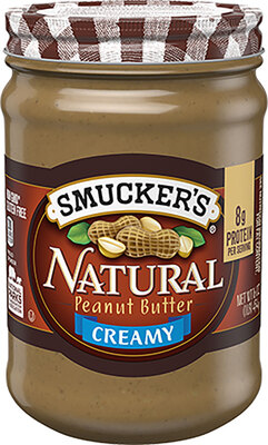 Smucker's NATURAL CREAMY PEANUT BUTTER天然柔滑花生酱