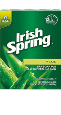 Irish Spring/爱尔兰春天ALOE BAR SOAP香皂