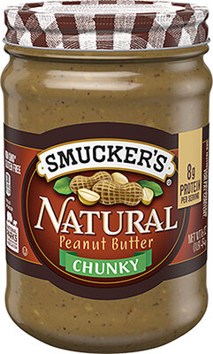 Smucker's NATURAL CHUNKY PEANUT BUTTER天然香脆花生酱