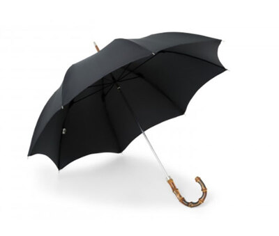 James Smith & Son City Umbrella with Whangee Cane Crook直杆伞