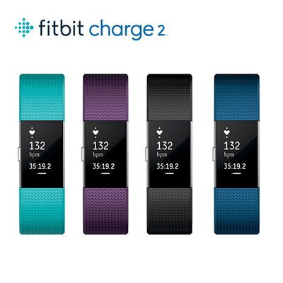 Fitbit心率睡眠监测智能手环Charge 2