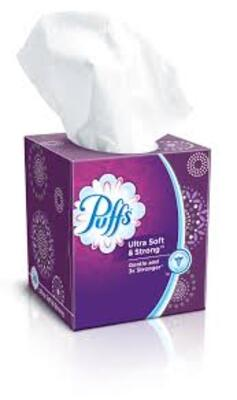 Puffs Ultra Soft面巾纸