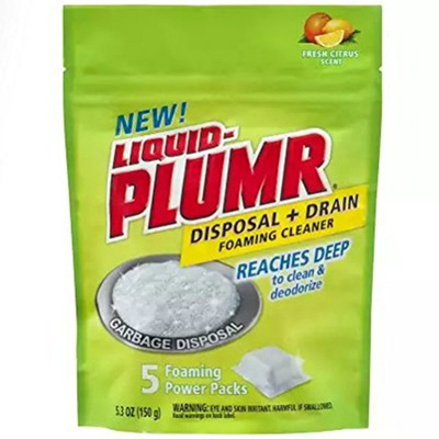 Liquid-Plumr Disposal & Drain Cleaner