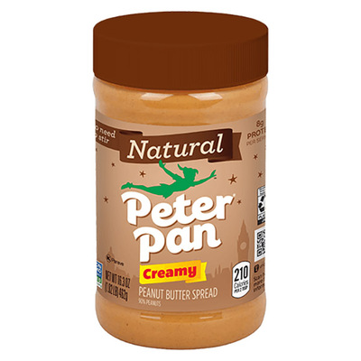 Peter Pan NATURAL CREAMY PEANUT BUTTER天然柔滑花生酱