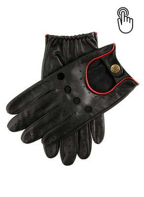 Dents Men's Touchscreen Leather Driving Gloves 男士手套 Silverstone