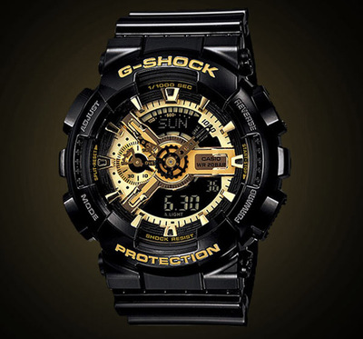 casio G-SHOCK运动男表GA-110系列