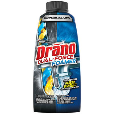 Drano Dual-Force Foamer Commercial Line 502mL